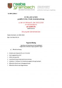 thumbnail of Einladung_GR280218-web