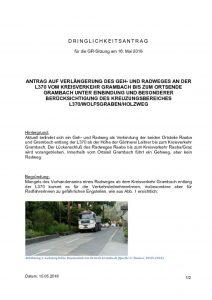 thumbnail of DA_Verlängerung Geh und Radweg Grambach