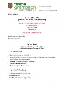 thumbnail of Einladung_GR160518
