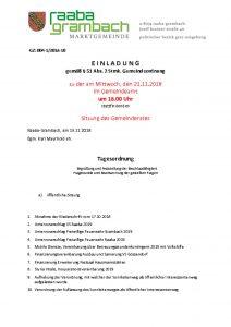 thumbnail of Einladung_GR211118-web