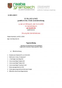thumbnail of Einladung_GR131119-web
