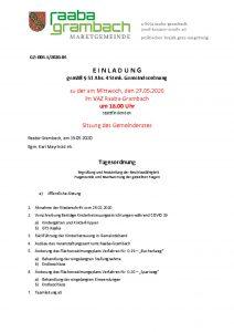 thumbnail of Einladung_GR270520 Anschlag