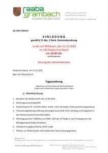 thumbnail of Einladung_GR211020